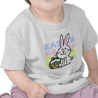 Conejito de pascua lindo camisetas