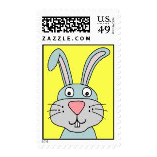 Conejito de pascua sello postal