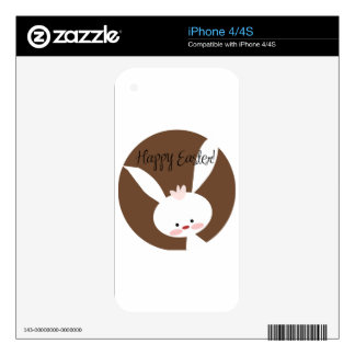 Conejito de pascua skins para iPhone 4