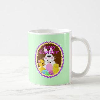 Conejito de pascua taza de café