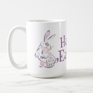 Conejito de pascua y huevos felices - 1 tazas