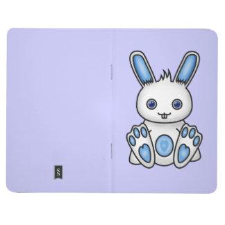 Conejito del azul de Kawaii Cuadernos