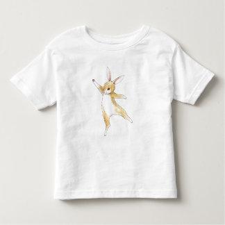 Conejito del baile playera de bebé