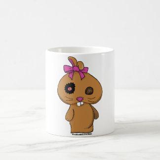 Conejito del BeanBag de Brown Tazas De Café