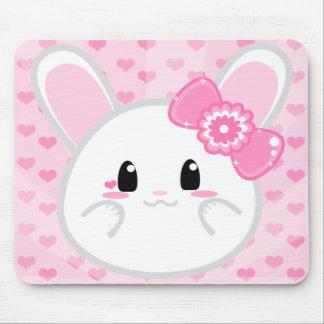 Conejito del bebé - chica Mousepad