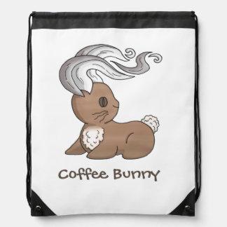 Conejito del café mochilas