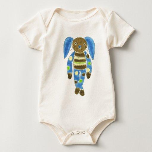 Conejito del calcetín trajes de bebé