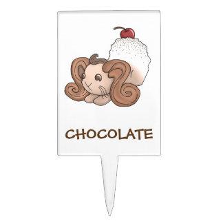 Conejito del chocolate decoraciones para tartas