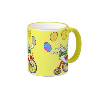 Conejito del circo taza de café