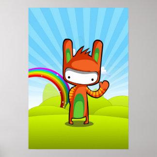 Conejito del conejito poster