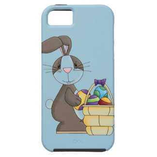 Conejito del conejo de rabo blanco de Brown con la Funda Para iPhone SE/5/5s