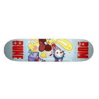 conejito del dum, dum, bune tablas de skate