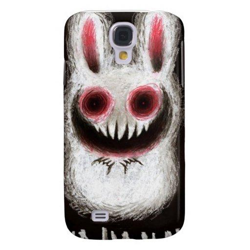 Conejito del emo del caso de Iphone 3 Funda Para Galaxy S4