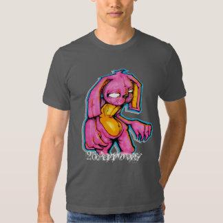 Conejito del empeine camisas