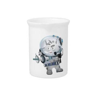 Conejito del espacio jarras
