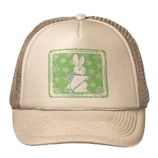 Conejito del esquí gorras
