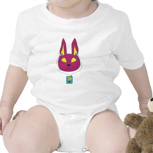 conejito del hip-hop traje de bebé