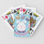 Conejito del huevo de Pascua Baraja Cartas De Poker