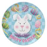 Conejito del huevo de Pascua Plato