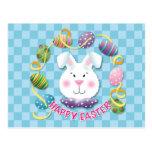 Conejito del huevo de Pascua Tarjetas Postales