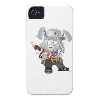 Conejito del oeste salvaje iPhone 4 protectores