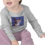 Conejito del vegano camisetas