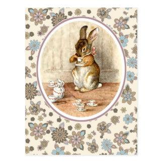 Conejito del vintage. Postales de Pascua