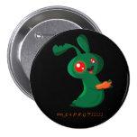 Conejito del zombi pin