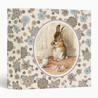 Conejito dulce de Beatrix Potter. Carpetas del reg