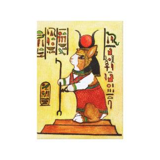 conejito egipcio impresión en lienzo