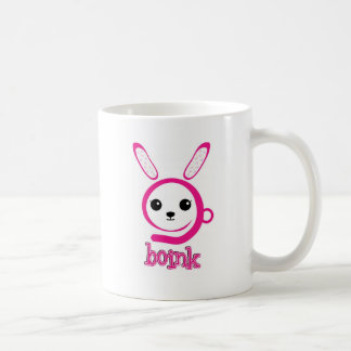 conejito extraño taza de café