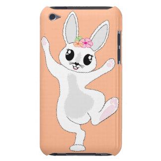 conejito feliz iPod Case-Mate protectores