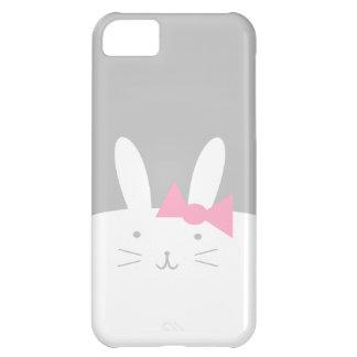 Conejito femenino funda para iPhone 5C