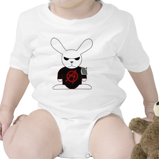 Conejito gótico Bruno Trajes De Bebé