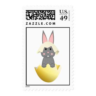 Conejito gris en un huevo envio