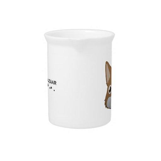 Conejito holandés de papel jarron