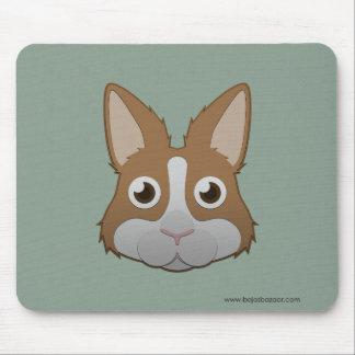 Conejito holandés de papel alfombrilla de ratón