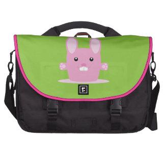 Conejito lindo bolsas para portátil