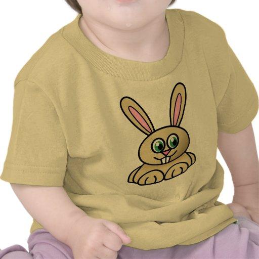 Conejito lindo camisetas
