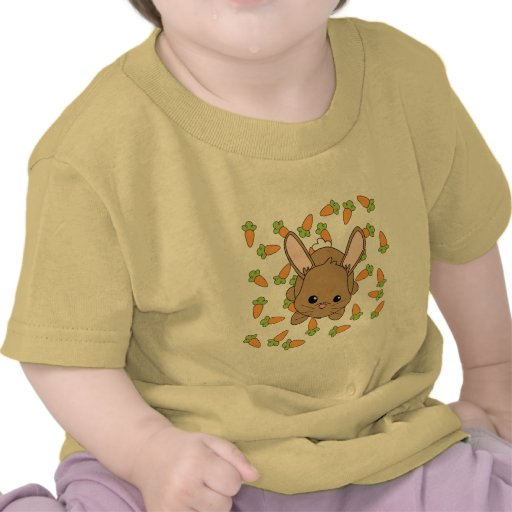 Conejito lindo de Lil Camisetas
