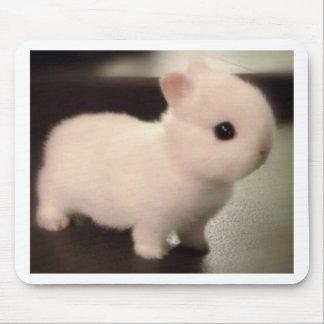 Conejito lindo del bebé tapete de ratón