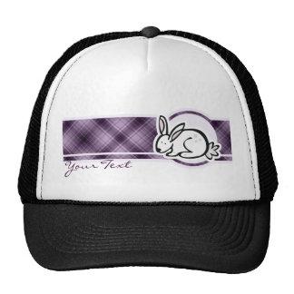 Conejito lindo; Púrpura Gorro