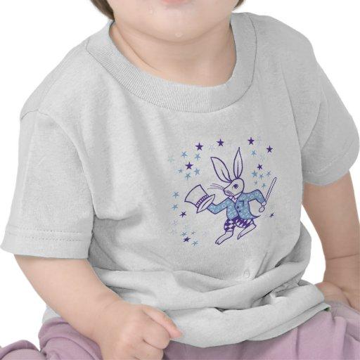 Conejito mágico camisetas