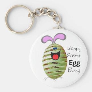 Conejito Pascua del huevo Llaveros