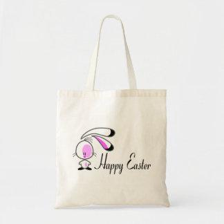 Conejito Pascua feliz Bolsas De Mano
