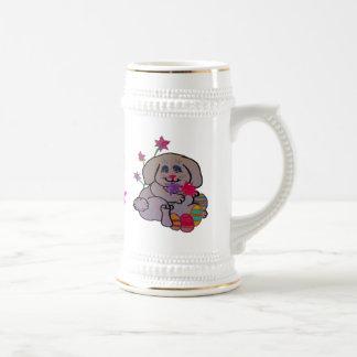 Conejito pequeño jarra de cerveza