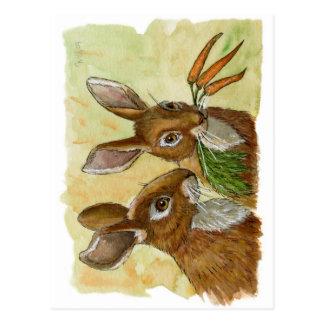 conejito-pequeño regalo divertido para usted por postal