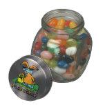 Conejito punky jarrones de cristal