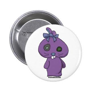Conejito púrpura del Beanbag Pin