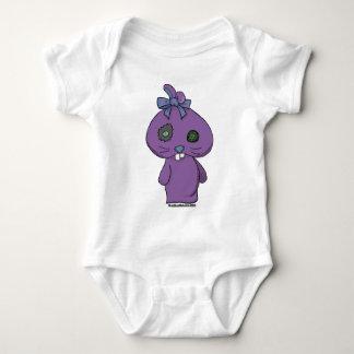Conejito púrpura del Beanbag Playera